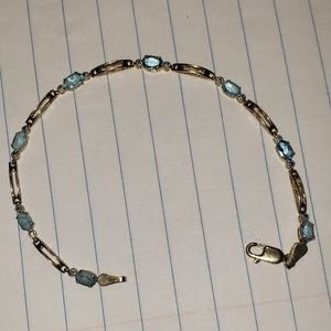 10kt topaz bracelet